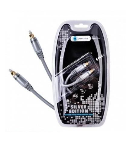 Cablu optic Cabletech 1.5 m Silver Edition KPO3854-1.5