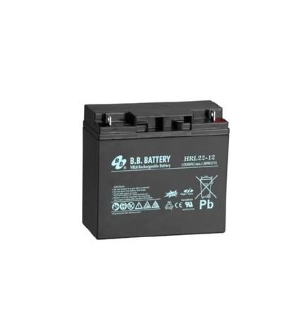 Acumulator stationar 12V 22Ah BB High Rate/Long Life