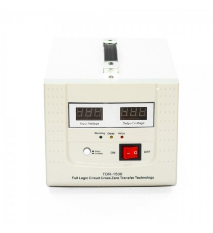 Stabilizator cu transformator 1500VA/900W Power Sistem TDR-1500