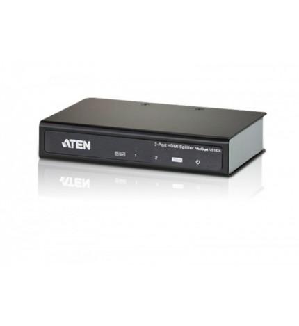 Splitter HDMI 2 porturi Aten Ultra HD HDMI (3D, Deep Color, 4kx2k) , VS182A-A7-G