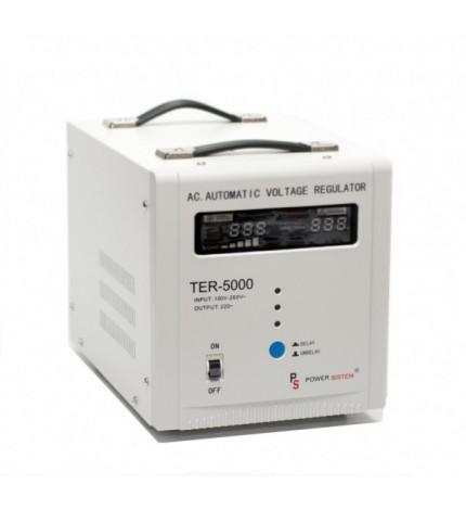 Stabilizator cu transformator 5000VA /3000W Power Sistem TER-5000