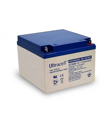 Acumulator stationar cu gel 12V 26Ah Ultracell