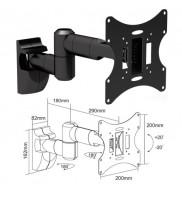 Suport TV reglabil LCD/LED Cabletech UCH0043 negru 23-42 inch