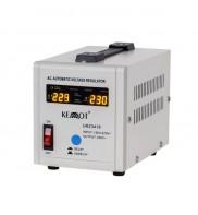 Stabilizator de tensiune cu transformator toroidal C.R.G.O., 500VA / 300W, tensiune iesire: 230 V, +/- 8%, Alb Kemot URZ3418