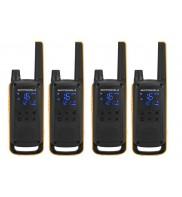 Walkie Talkie Motorola Talkabout TLKR T82 Extreme Quad set 4 bucati