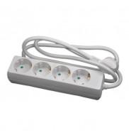 Prelungitor electric, 4 prize, 1.5M, cablu 3x1 mm Kemot URZ3071-1.5