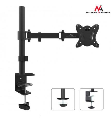 Suport de birou pentru monitor, brat reglabil, 13 - 27 inch, Negru MC-690N