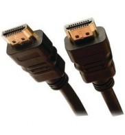 Cablu HDMI - HDMI, high speed, HDTV, 5M, V1.4, contacte aurite, Emtex