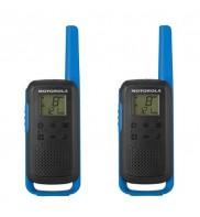 Statie radio PMR portabila Motorola TALKABOUT T62 BLUE, set cu 2 buc