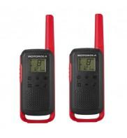 Statie radio PMR portabila Motorola TALKABOUT T62 RED, set cu 2 buc