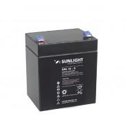 Acumulator stationar 12V 5Ah borne F1 / T1 Sunlight