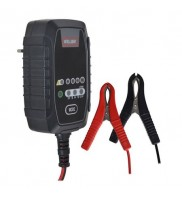 Incarcator profesional, inteligent, pentru acumulatori VRLA - AGM, Geti CC008A 6/12V-0,8A, auto, motociclete, scutere, barci