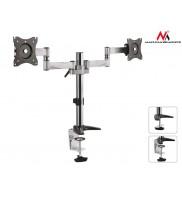 Suport de birou pentru 2 monitoare, 2 brate reglabile, 13-27 inch, Maclean MC-714