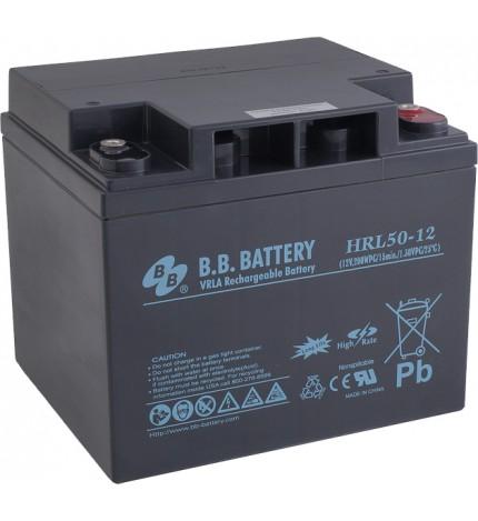 Acumulator stationar 12V 50Ah BB High Rate/Long Life