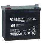 Acumulator stationar 12V 55Ah BB High Rate/Long Life