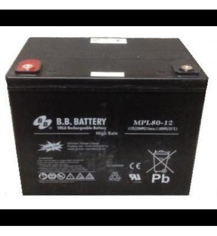 Acumulator stationar 12V 80Ah BB High Rate/Long Life