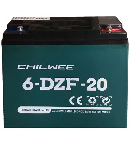 Acumulator vehicule electrice Chilwee 12V 20Ah 6-DZF-20