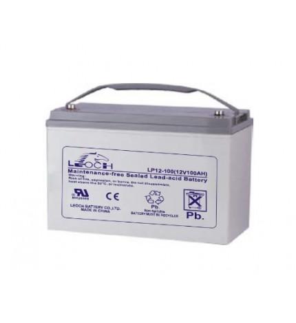 Acumulator stationar, 12V 100Ah, VRLA, Longlife pentru UPS-uri de centrala, Leoch