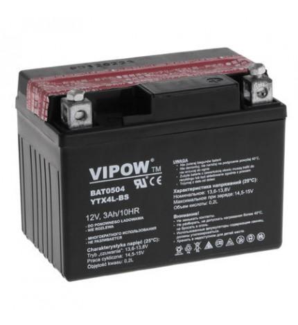 Acumulator moto 12V 3Ah Vipow