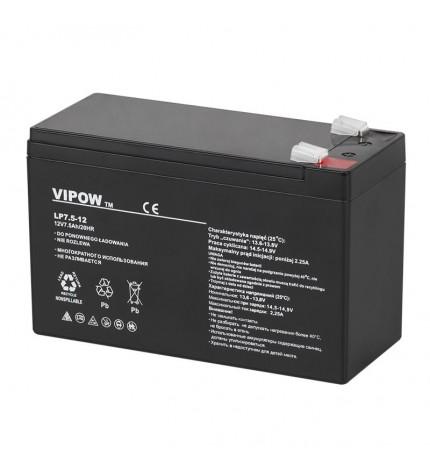 Acumulator stationar Vipow 12V 7.5Ah