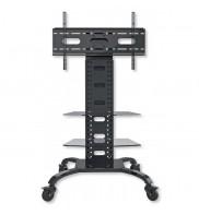Stand mobil TV LCD/LED 32''-70'' , Techly , Vesa, reglabil cu doua rafturi ICA-TR8 022618