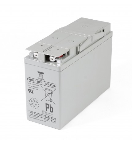 Acumulator stationar, Industrial, plumb acid sigilat, 12V 44.6Ah, FXH45-12IFR, Front Terminal, Yuasa