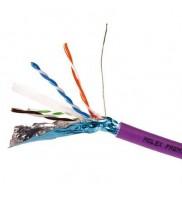Cablu F/UTP cat.6, manta LSZH, Euroclass Dca-s2,d2,a1 - 500m/tambur, Violet - Molex