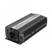 Invertor de tensiune Kemot URZ3162 12V/230V 500W