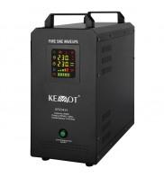 UPS Centrale termice Sinus PUR 500W 12V Kemot cu baterie incorporata de 55 Ah URZ3424