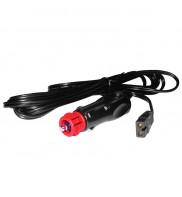 Cablu de Alimentare pentru Lada Frigorifica, Mufa pentru Bricheta Auto, Lungime 2 m KPO3980A-2
