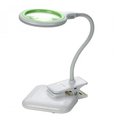 Lampa led cu lupa, alimentare USB, culoare lumina selectabila, clema si suport, TIPA ZD-127