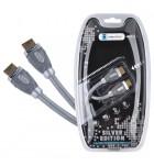 Cablu HDMI-HDMI Cabletech 1.8M Silver Edition KPO3850-1.8