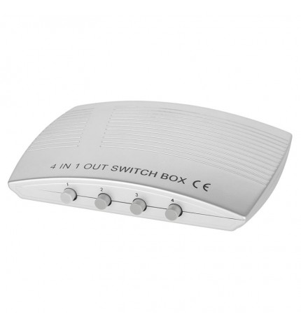 Switch HDMI 4 porturi, 4 intrari - 1 iesire ZLA0431