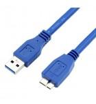 Cablu profesional, USB tata - MICRO B, versiunea 3.0, 1.8 m KPO2902