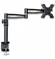 Suport de birou cu dubla articulatie, reglabil, 13 - 27 inch, reglabil, 6kg Techly ICA-LCD 502BK, 301191