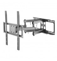 Suport TV/LCD/LED pentru perete, reglabil, Techly, 32 - 55 inch, Negru, ICA-PLB 344STY, 361230