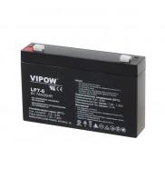 Acumulator gel plumb Vipow, 6 V, 7 Ah, BAT0207