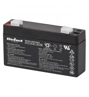 Acumulator stationar 6 V, 1.3 Ah Rebel, BAT0400
