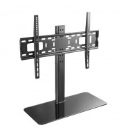 Suport pentru televizor, de birou, reglabil inaltime, Techly, 32-55 inch, Negru, ICA-LCD S304L