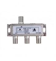 Splitter 2 iesiri TAP 10dB, 5-1000 MHz, Triax, seria GOLD - ACT 2-10