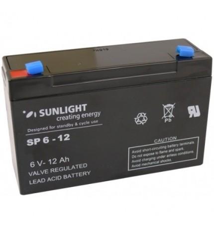 Acumulator stationar 6V 12Ah Sunlight
