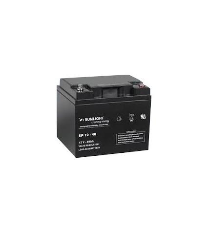 Acumulator stationar Sunlight AccuForce 12V 40Ah