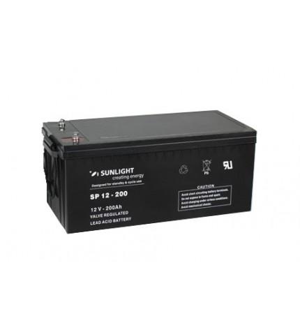 Acumulator stationar 12V 200Ah Sunlight