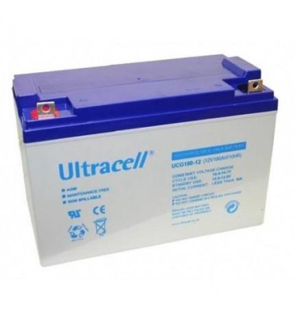 Acumulator stationar cu gel 12V 100Ah Ultracell Deep Cycle Gel