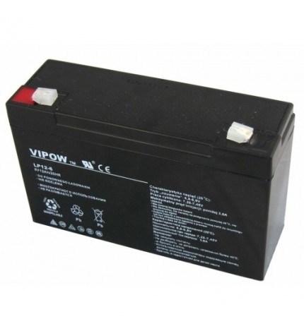Acumulator stationar Vipow 6V 12Ah