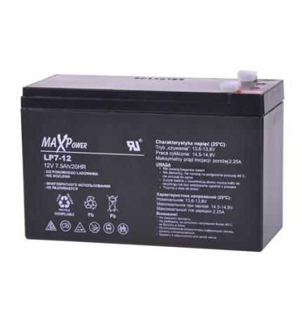 Acumulator stationar MaxPower 12V 7.5Ah
